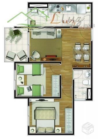 Apartamento Residencial à venda, Vila Eldízia, Santo André - AP0167.