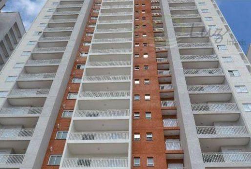 APARTAMENTO de 80m² com 3 DORM/SUITE 2 VAGAS - TERRAÇO GOURMET - CENTRO SBC