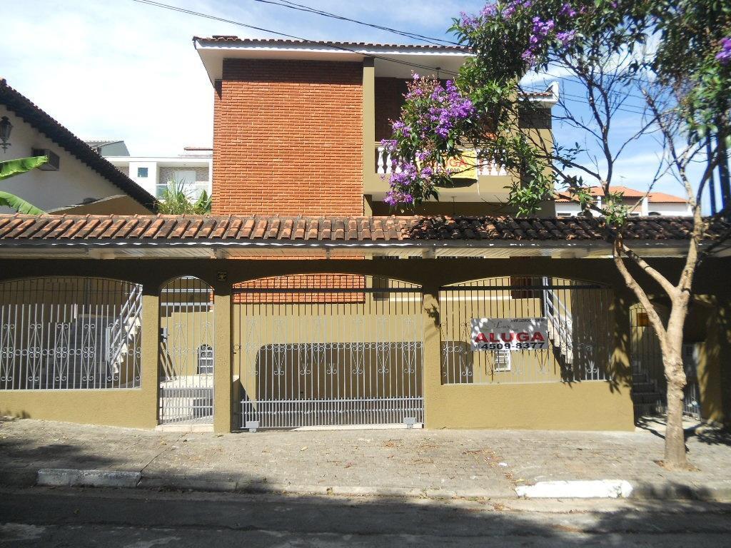 Sobrado residencial para locação, Parque dos Pássaros, São Bernardo do Campo.