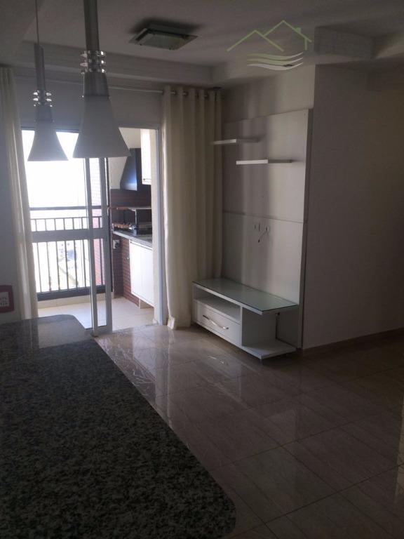 Aptº de 72m² com 3 Dorm/suite 2 Vagas Terraço Gourmet - ESTUDA PERMUTA
