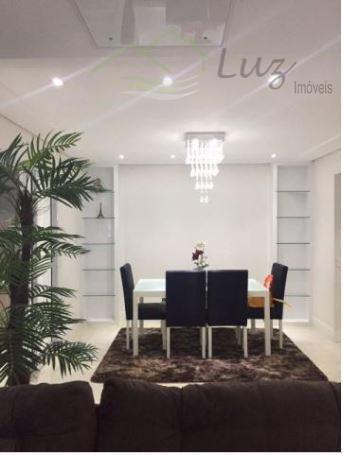 Domo Life Lindo 123m² 3dorm suite 2 vagas Trraço Gourmet Condomínio Club ESTUDA PERMUTA