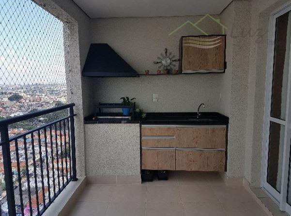 Condomínio Gran Village 82m² 3 dorm/suite 2 Vagas - Estuda Permuta