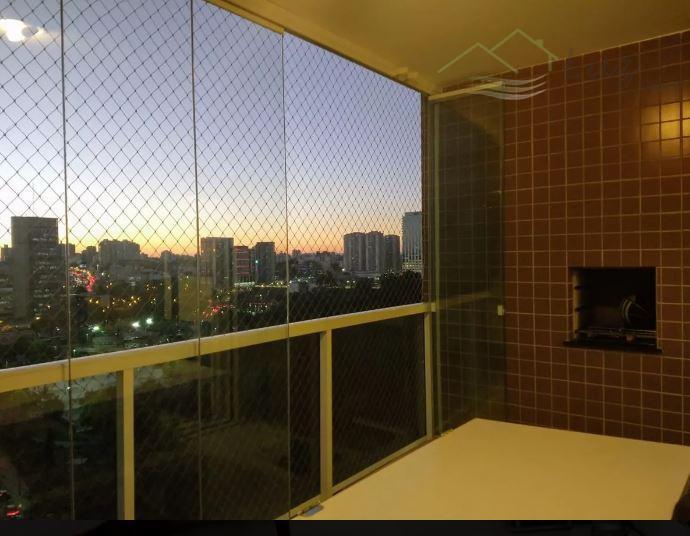 Aptº de 92m² com 3 dorm/suite 2 vagas + deposito - Terraço Gourmet