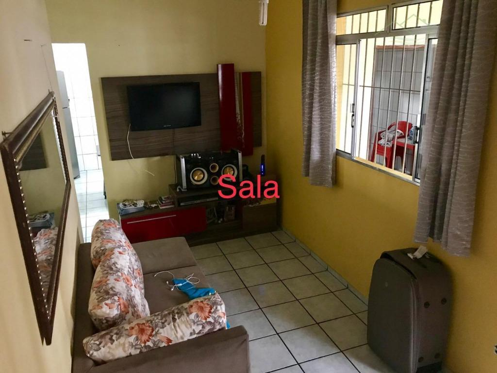 Sobrado Residencial à venda, Parque São Vicente, São Vicente - SO0171.