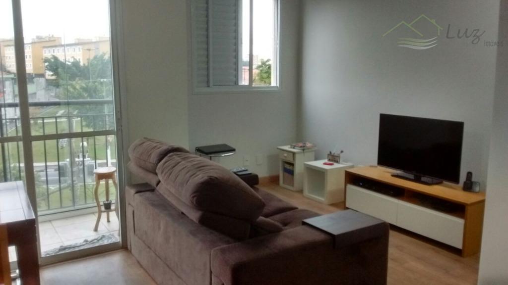 Apartamento com 3 dormitórios à venda, 59 m² por R$ 285.000 - Parque Espacial - São Bernardo do Campo/SP