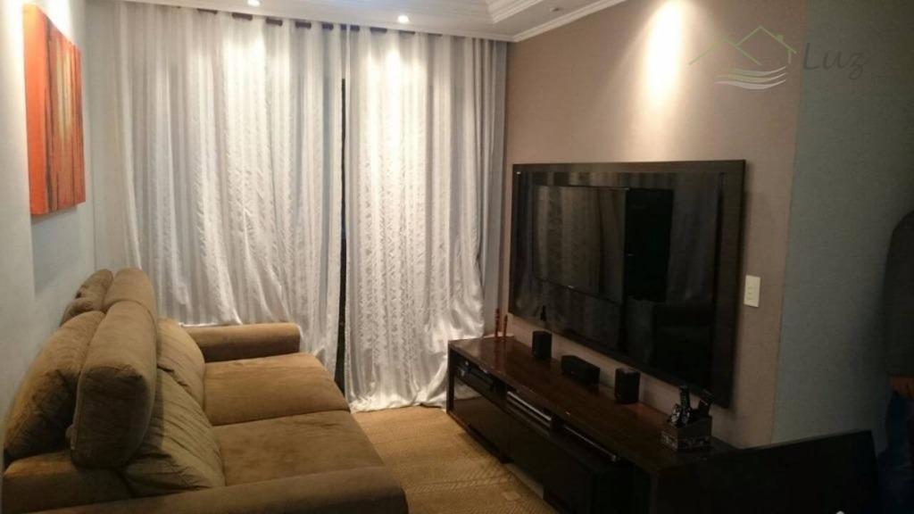 Ap. 64m² com 3 dormitórios 2 vagas - Próximo Metro Sacomã