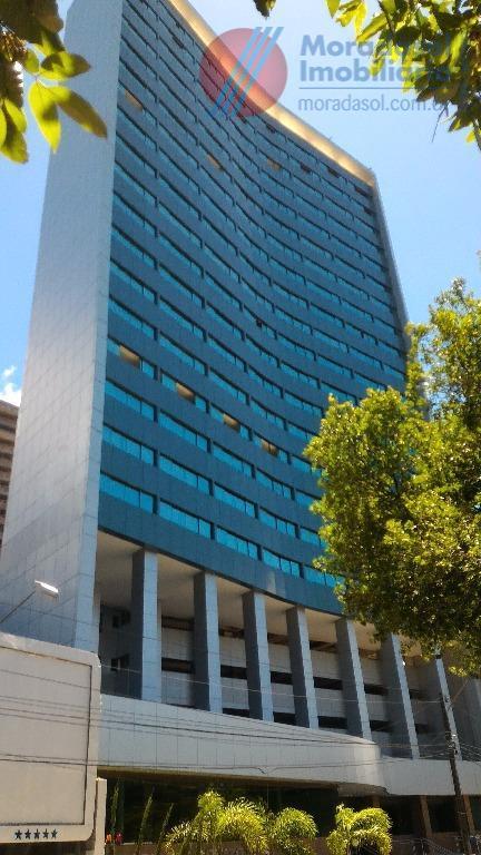 empresarial renato dias - empresarial de alto padrão com excelente localização, sala com 37m2 com wc...