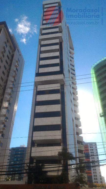 edf príncipe de toscana - excelente apartamento no 14º andar com varandão com vista p/mar, sala...