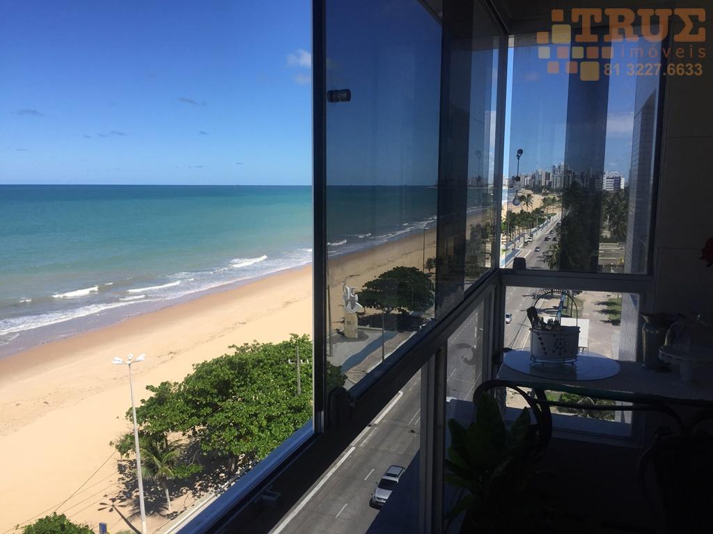 Apartamento a beira mar, 237 m2 útil, R$ 1,2 milhões (81) 98715-3333