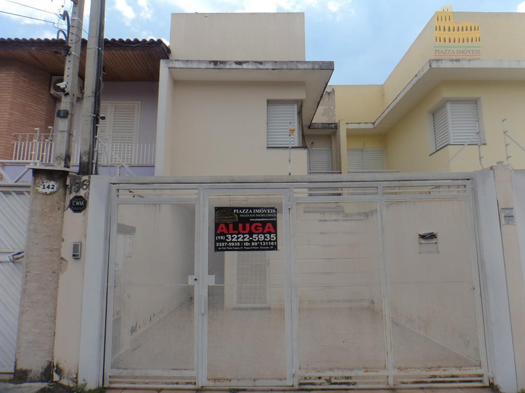 Sobrado residencial para locação, Jardim Morumbi, Sorocaba.
