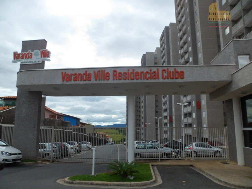 Apartamento  residencial para locação, Wanel Ville, Sorocaba.