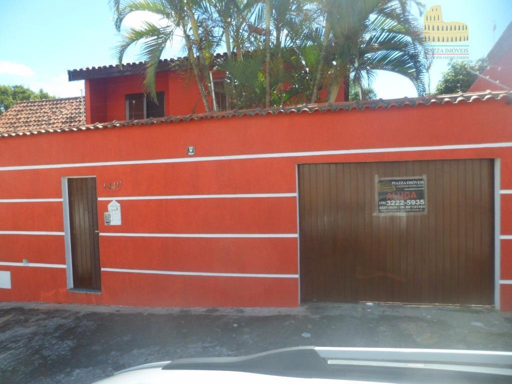 Sobrado residencial à venda, Vila Trujillo, Sorocaba - SO0042.