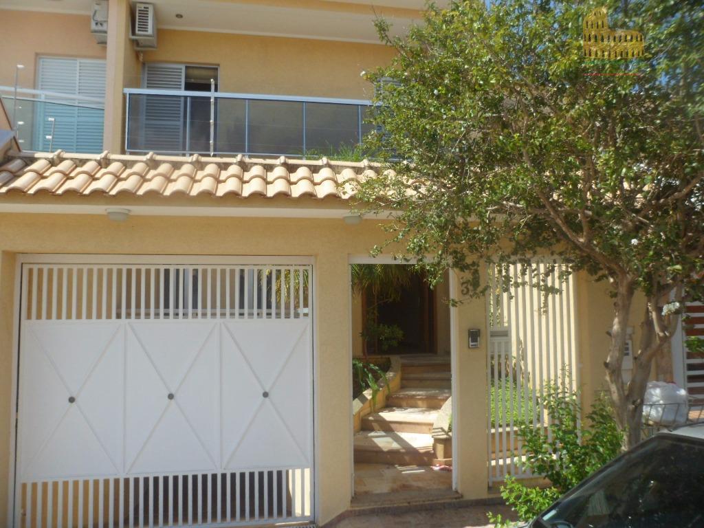 Sobrado residencial à venda, Jardim Santa Rosália, Sorocaba - SO0045.