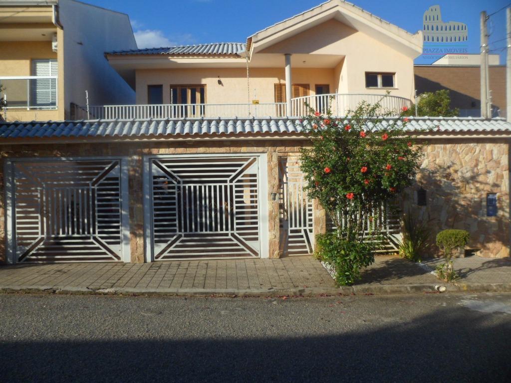 Sobrado residencial à venda, Jardim Santa Rosália, Sorocaba.