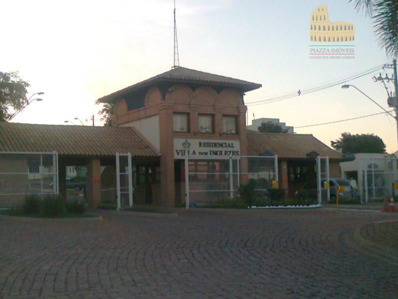 Terreno residencial à venda, Condomínio Vila dos Inglezes, Sorocaba.