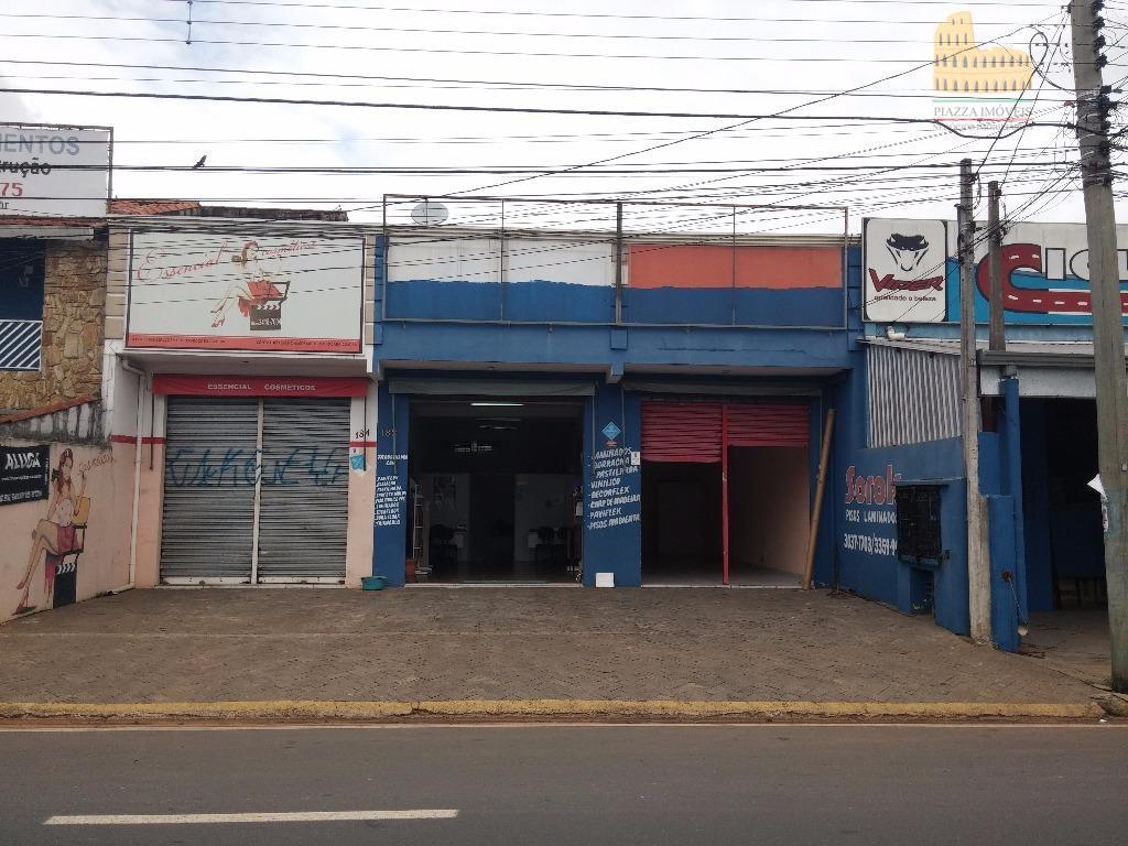 Salão comercial para locação, Parque dos Eucaliptos, Sorocaba.