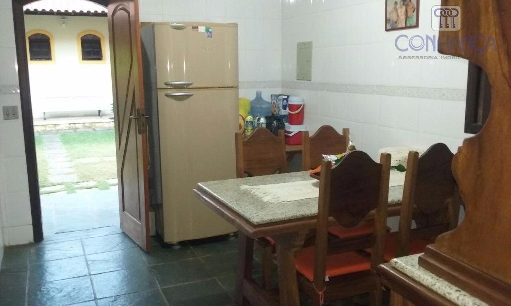 magnifica casa no condomínio fazenda garatucaia a 50 metros da praia, um terreno de 450 m²...