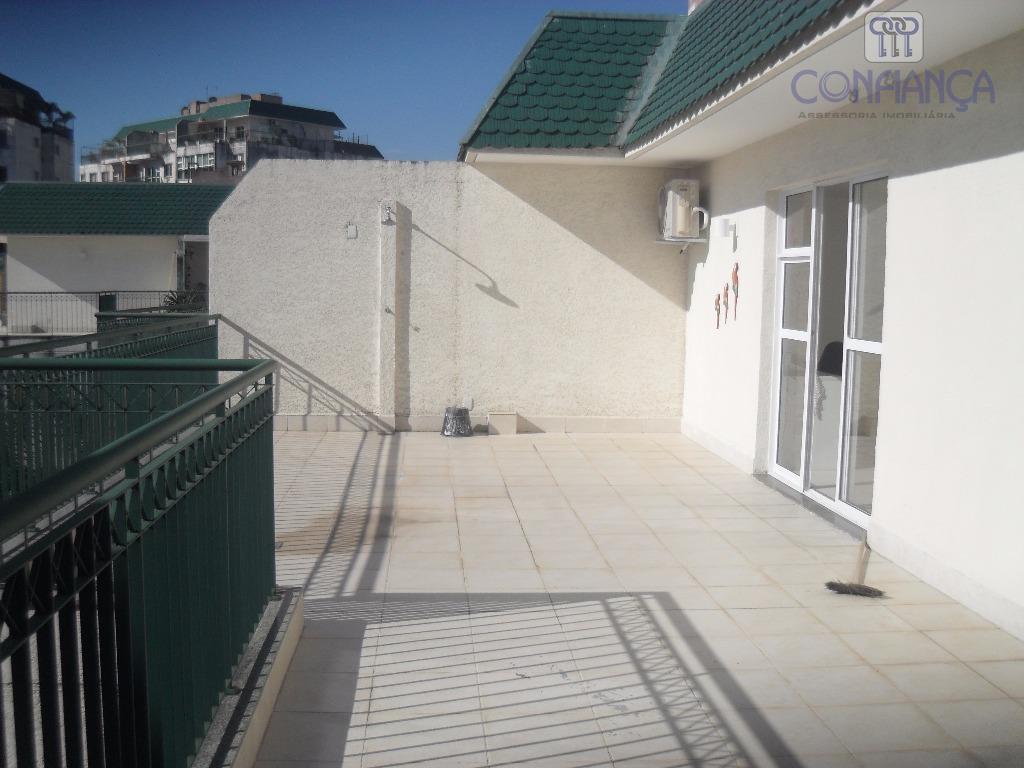 Cobertura com 2 dormitórios à venda, 164 m² por R$ 750.000 - Campo Grande - Rio de Janeiro/RJ