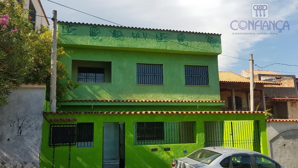 Casa com 3 dormitórios para alugar, 80 m² por R$ 1.100/mês - Campo Grande - Rio de Janeiro/RJ