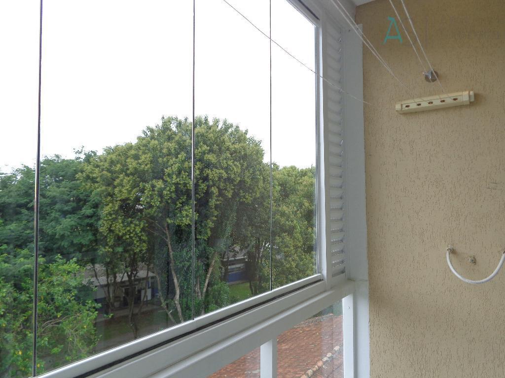 Apartamento com 2 dormitórios para locação, 114 m² por R$ 1.400/mês - Pedro Moro - São José dos Pinhais/PR