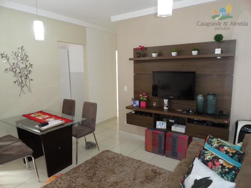 Apartamento residencial à venda, Jardim Dona Regina, Santa Bárbara D'Oeste.