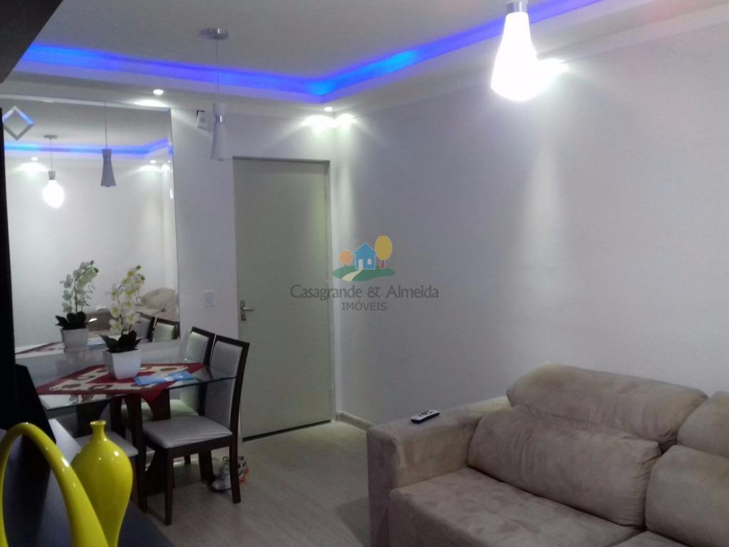 Apartamento residencial à venda, Planalto do Sol II, Santa Bárbara D'Oeste.