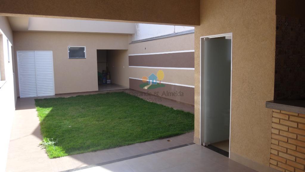 Casa residencial à venda, Jardim Souza Queiroz, Santa Bárbara D'Oeste.