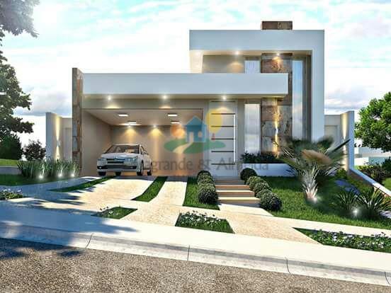 Casa residencial à venda, Loteamento Residencial Mac Knight, Santa Bárbara D'Oeste.