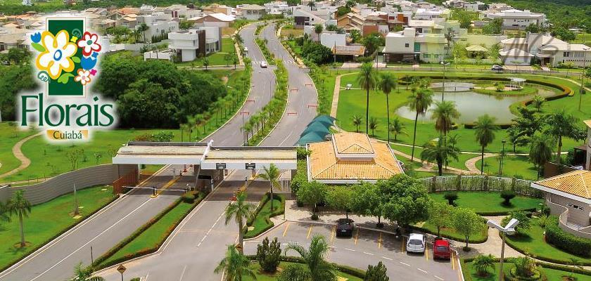 Terreno residencial à venda, Condomínio Florais Cuiabá Residencial, Cuiabá.