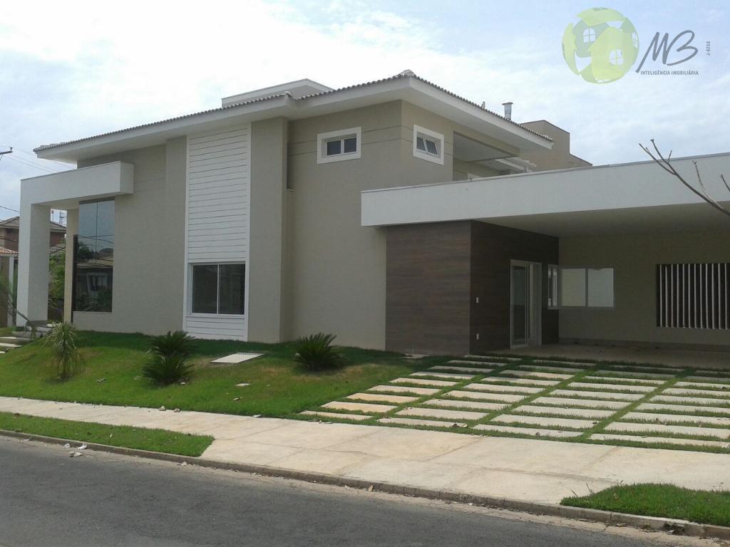 Sobrado residencial à venda, Condomínio Florais Cuiabá Residencial, Cuiabá.