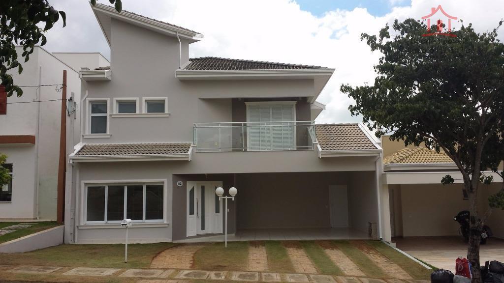Casa residencial à venda, Condomínio Portal de Itaici, Indaiatuba - CA0830.