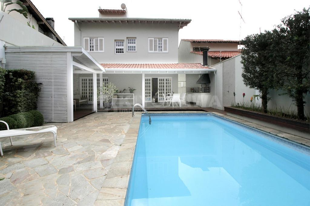 Sobrado na Vila Oliveira com 4 dormitórios pisicina, espaço gourmet e academia