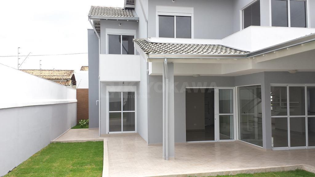 Sobrado novo amplo na vila Oliveira - 4 dormitóiros, 7 vagas garagem