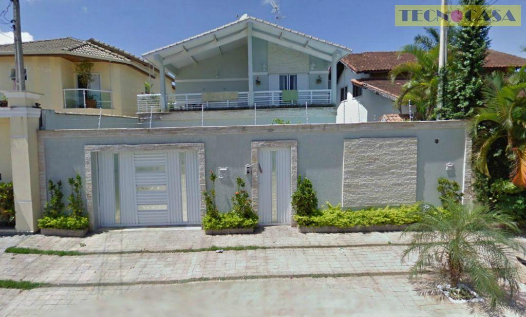 Sobrado residencial à venda, Canto do Forte, Praia Grande - SO0827.