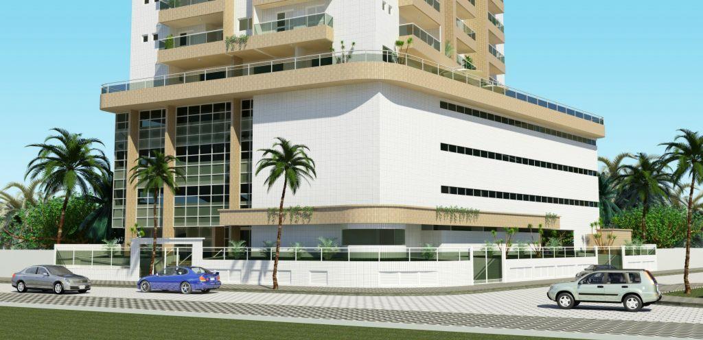 Apartamento residencial à venda, Canto do Forte, Praia Grande - AP2998.
