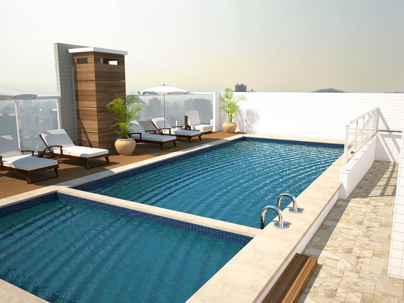 Apartamento residencial à venda, Vila Mirim, Praia Grande - AP3521.