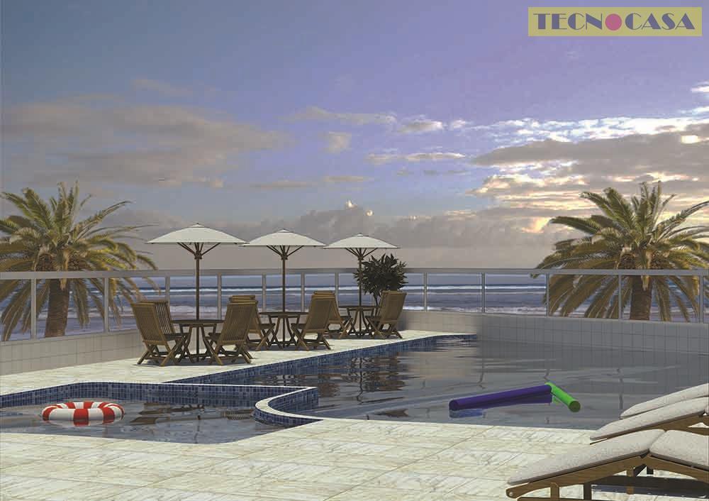 Apartamento residencial à venda, Balneário Maracanã, Praia Grande - AP2562.