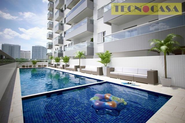 Apartamento residencial à venda, Cidade Ocian, Praia Grande - AP2211.