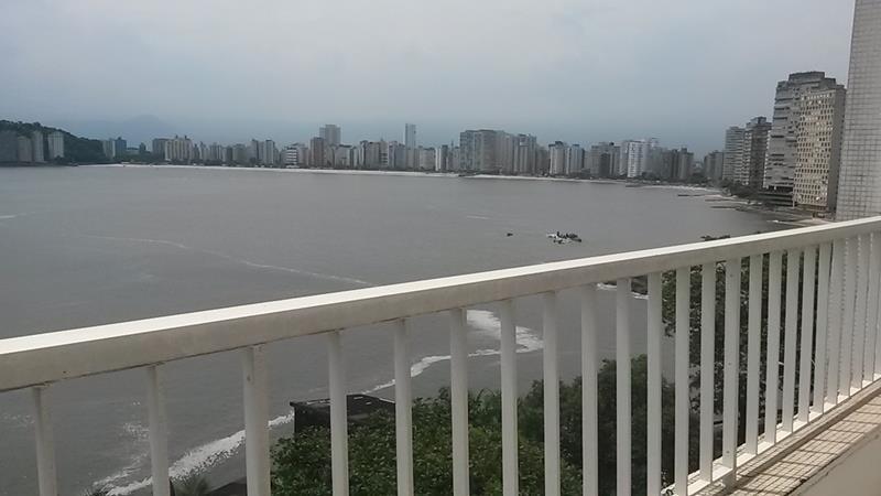 Apartamento residencial à venda, Ilha Porchat, São Vicente - AP3746.