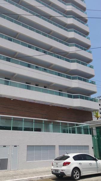 Apartamento residencial à venda, Vila Guilhermina, Praia Grande - AP3784.