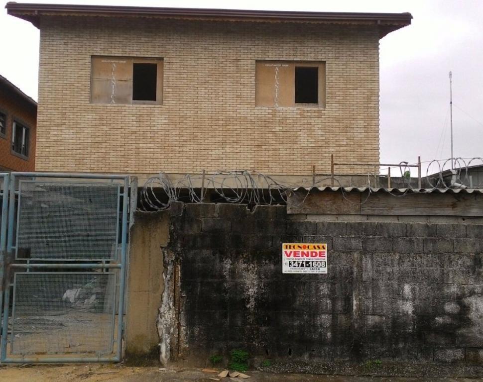 Casa residencial à venda, Jardim Anhangüera, Praia Grande - CA2957.