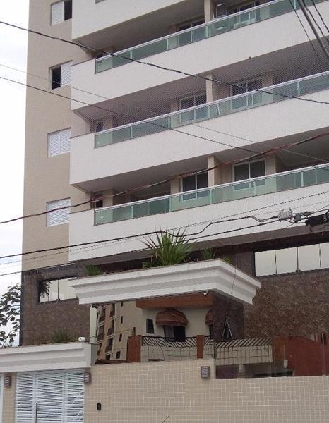 Apartamento residencial à venda, Vila Caiçara, Praia Grande - AP3376.