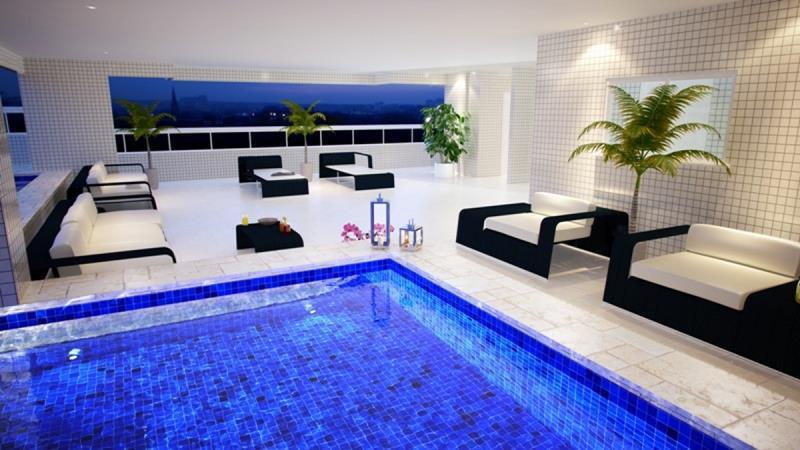 Apartamento residencial à venda, Boqueirão, Praia Grande - AP4008.