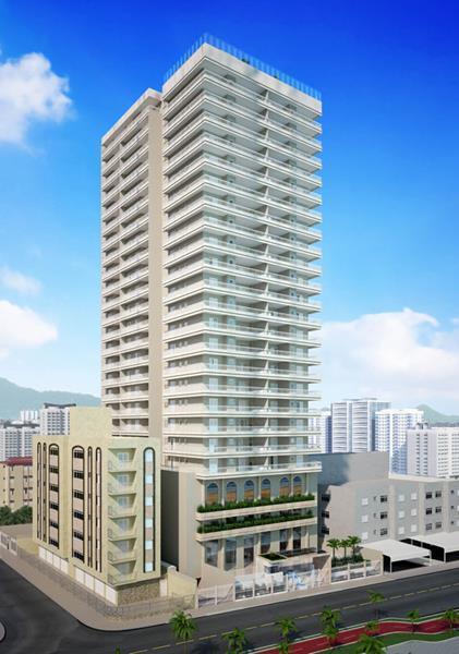 Apartamento residencial à venda, Campo da Aviação, Praia Grande - AP4022.