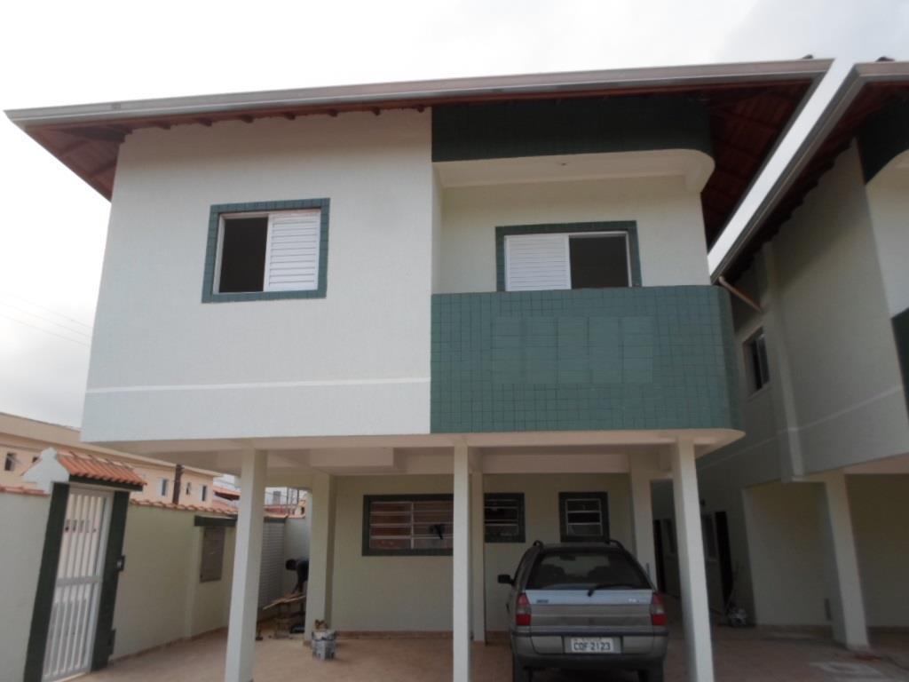 Sobrado residencial à venda, Cidade Ocian, Praia Grande - SO1413.