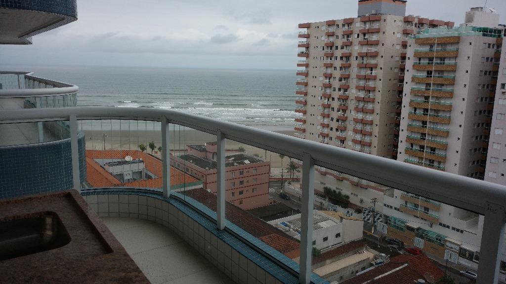 Apartamento residencial à venda, Ocian, Praia Grande - AP4145.