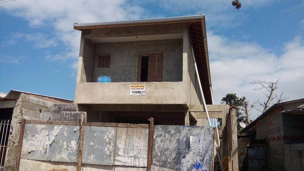 Casa residencial à venda, Jardim Melvi, Praia Grande - CA3187.