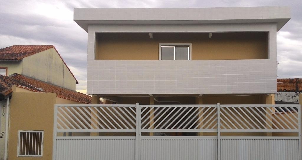 Sobrado residencial à venda, Jardim Melvi, Praia Grande - SO1130.