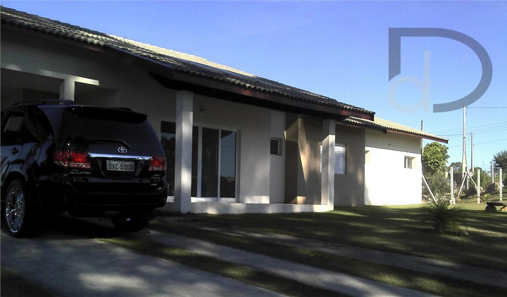 Casa Residencial à venda, Condomínio Vale Da Santa Fé, Vinhedo - CA0056.