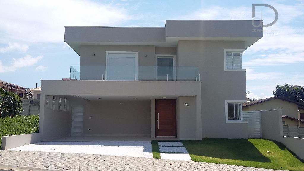 Casa residencial à venda, Condomínio Canto Del Bosco, Valinhos.